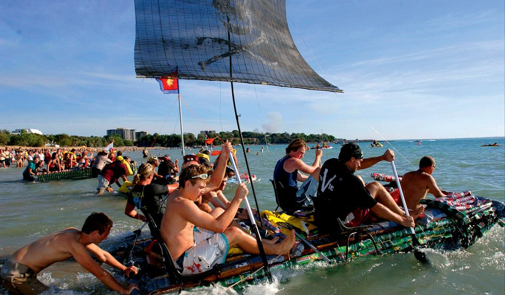 Beer Can Regatta in Darwin