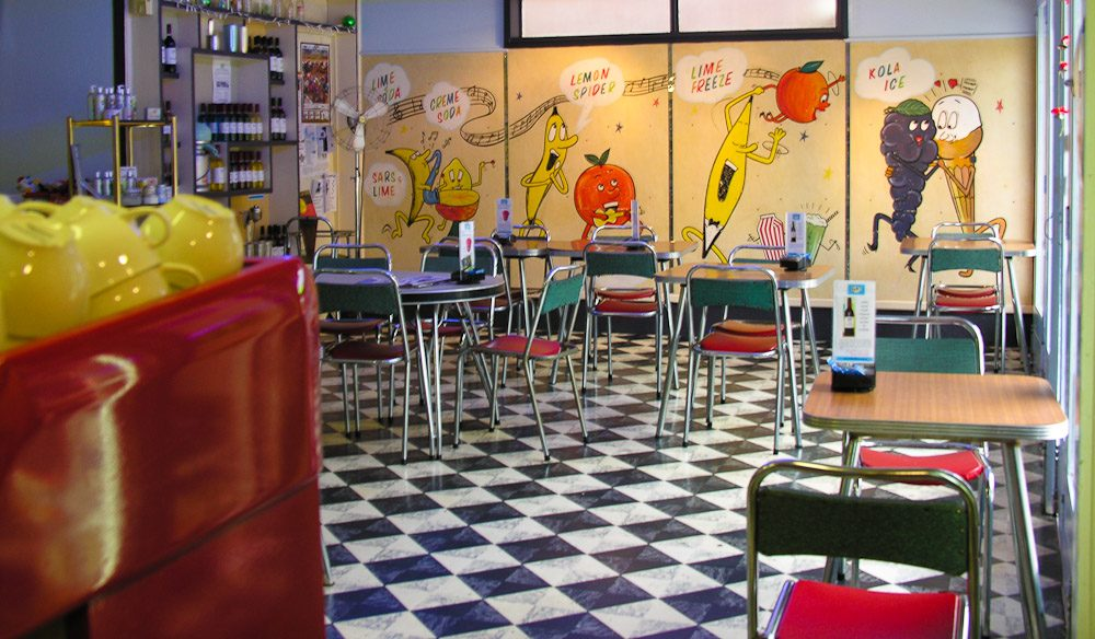 Have a milkshake at the authentic, 1950s-inspired  Bells Milk Bar, Broken Hill