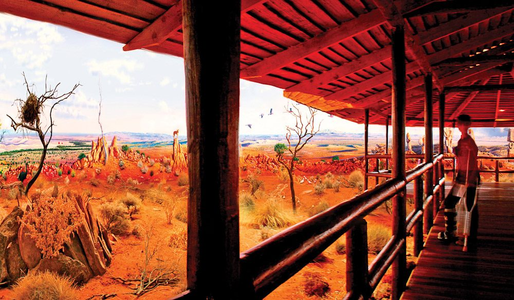100 Things You Have Never Heard Of #90 Worlds Largest Acrylic Painting Broken Hill (2 of 3)