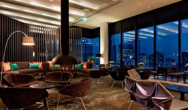 Level 28 Guest Lounge - Crown Metropol