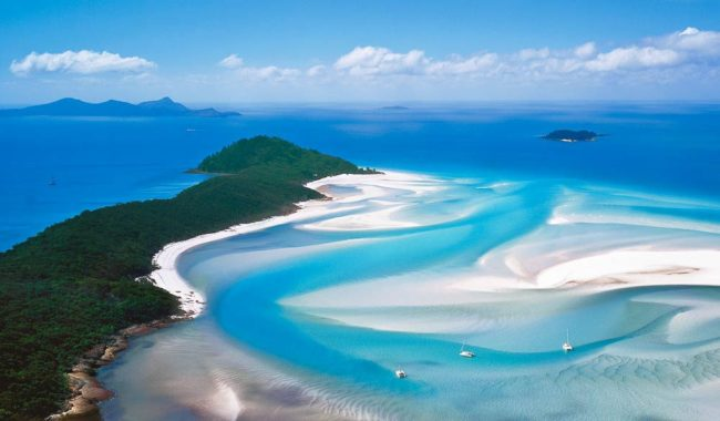 Hill Inlet Whitsunday island