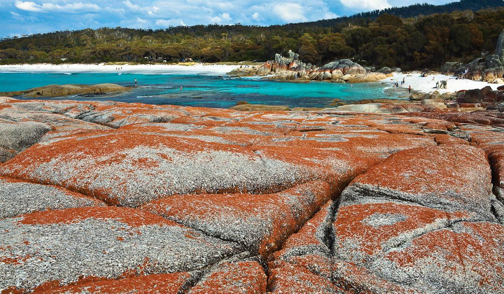 100 best views in australia 29 bay of fires tas for Landscaping rocks tasmania