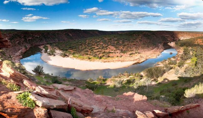 """Named after the enormous Z bend created over time by the Murchison River, the lookout offers views that will spellbind visitors"" - Grace Pappelendam"
