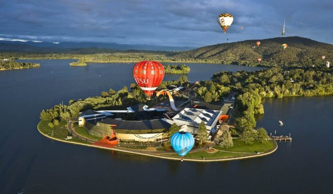 """Rising above it all at dawn in a balloon is one of the most memorable, shifting views"" - Kathy Tricolas"