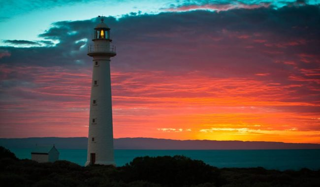 """I love to photograph this lighthouse because every shot has a different feeling depending on the time of day, as the light changes"" – Jason Lloyd, photographer"
