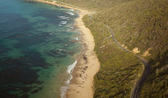 Ariel View - Great Ocean Road