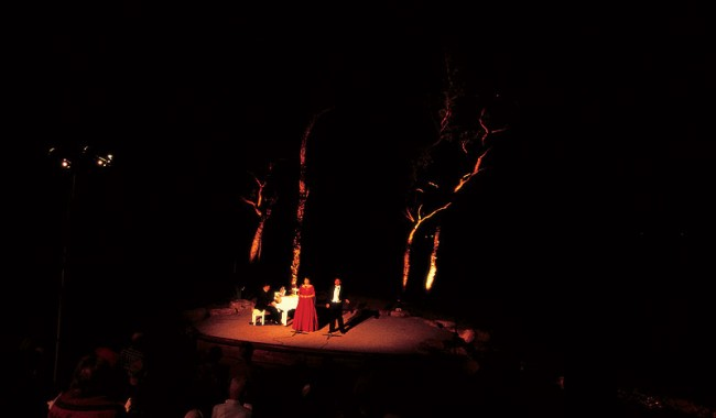 Opera at the Undara Lava Tubes, Qld