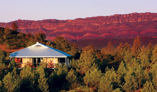 Rawnsley Park Station within cooee of Wilpena Pound will open four more villas in April 2009.