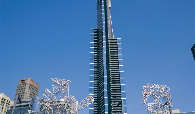 Eureka Tower, Melbourne. Image by Tourism Victoria