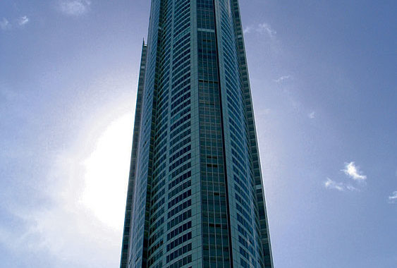 Fight for the world's highest residential view, Q1 Surfers Paradise. Image by Tourism QLD