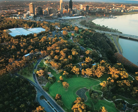 Feel like a King in the world's biggest inner-city park. Image by Tourism WA