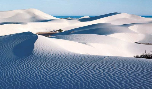 The white dunes of Eucla. - WA Tourism