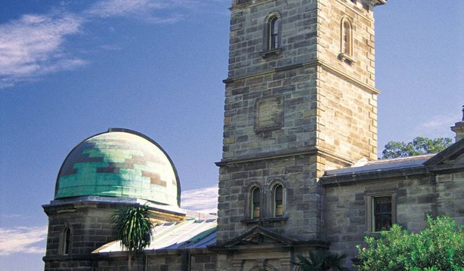 Free entry to the museum at the Old Sydney Observatory. Image by Tourism NSW.
