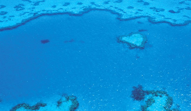 Once you've gazed down on the Heart Reef from 2000 feet, you'll have little left to tick off your romantic wish list.
