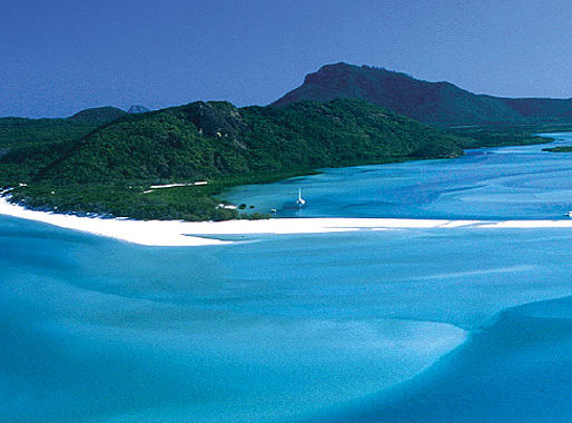 The incomparable Whitehaven Beach.