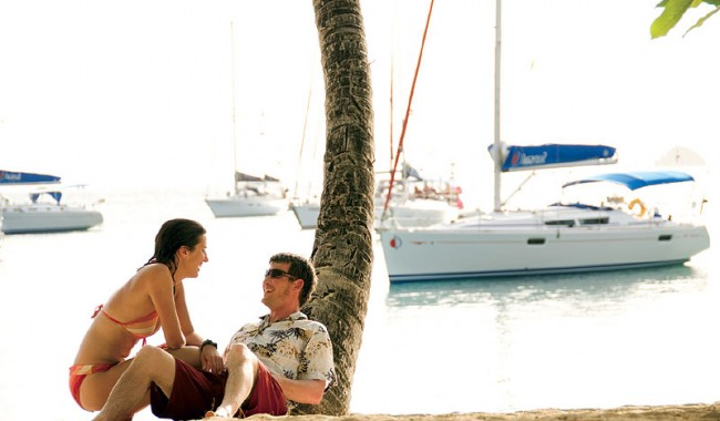 Embark on some sailing lessons of your own, then simply set sail for the sunset.