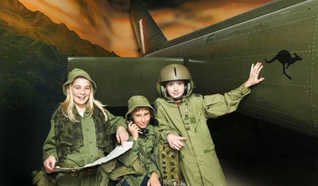 Canberra is still the capital of the country and the cheap kids holidays - they love exploring the War Memorial, and its free