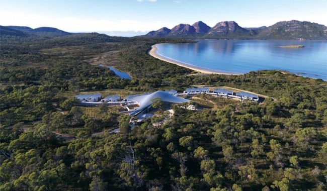 The latest Luxury Lodge Saffire-Freycinet on Tasmania's East Coast