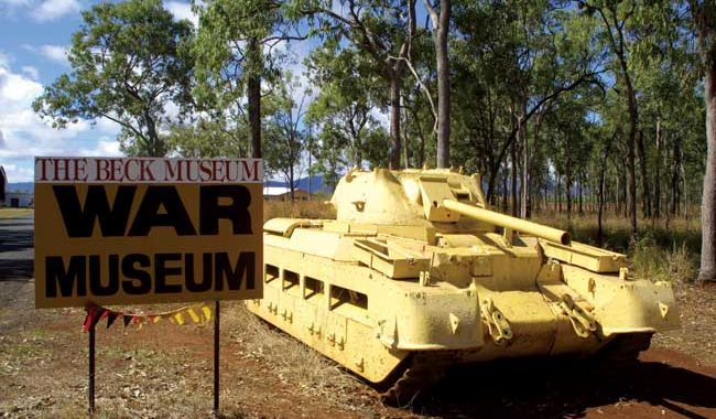 More peices at Australia's largets private collection of WW2 relics, teh Becks Museum, QLD.