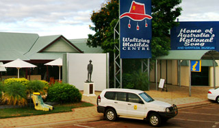 the Waltzing Matilda Centre is the only museum in the world dedicated to a song