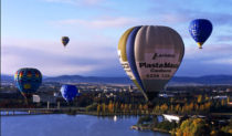 A hot air balloon trip is a great gift for mothers across Australia