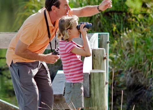 Not Just For The Birds:  The resort's grounds are perfect for bird watching.
