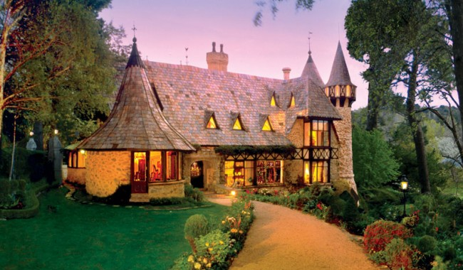 Thorngrove Manor is the most fairytale-like of all these mansions.