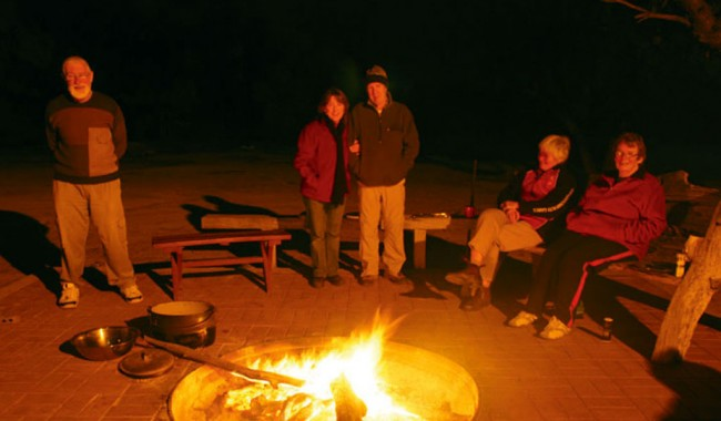 Campfire at Trilby Station