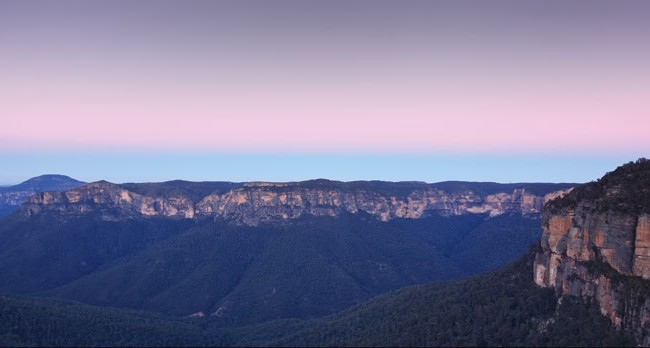 The Blue Mountains captured by George Suresh