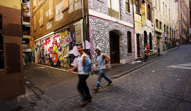 Walk to Art in Melbourne. Image by Alex Coppel