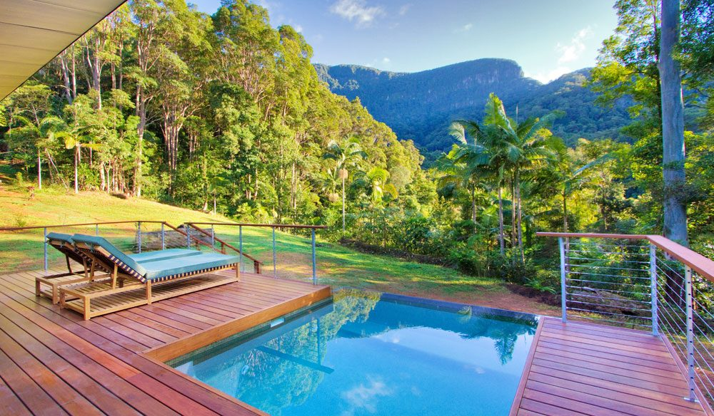 Crystal Creek Rainforest Retreat in the Tweed Valley