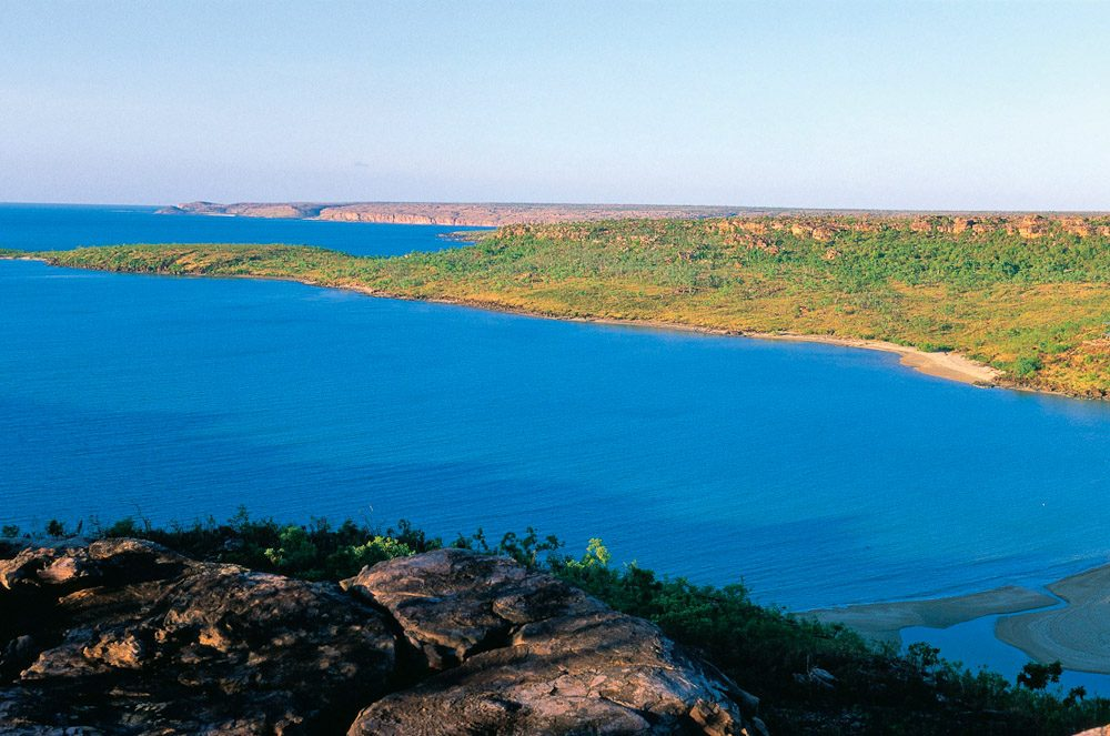 Faraway Bay on the northern reaches of The Kimberley Coastline, WA  - Image by Tourism WA