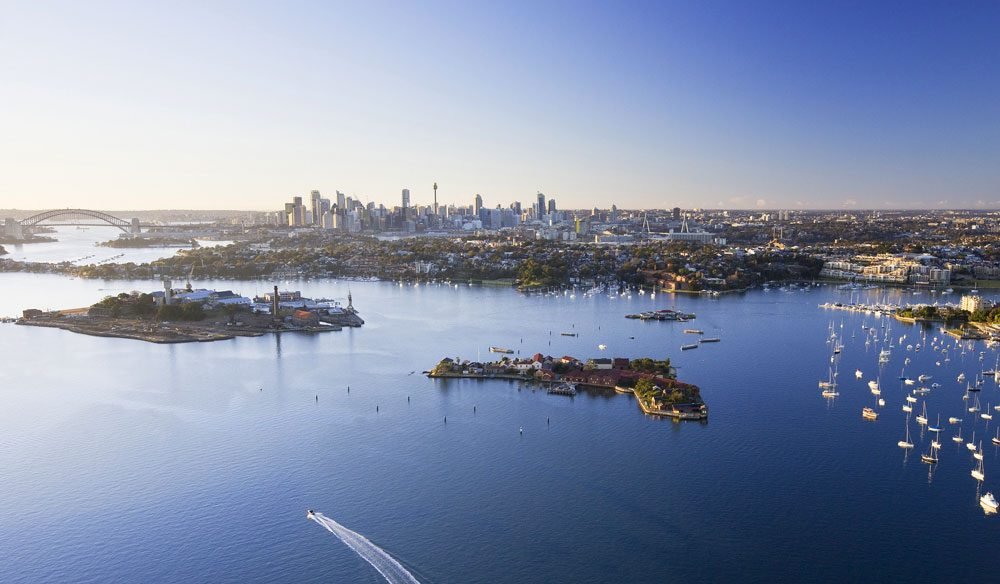 Sydney Harbour Islands, including the main star, Cockatoo Island - Image by Destination NSW