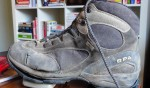 Good as new? Steve's hiking boot fetish is getting weird