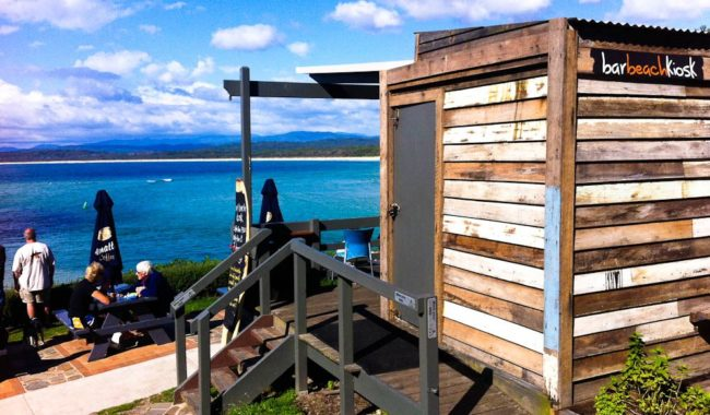 Bar Beach Kiosk, Merimbula's on NSW's Sapphire Coast