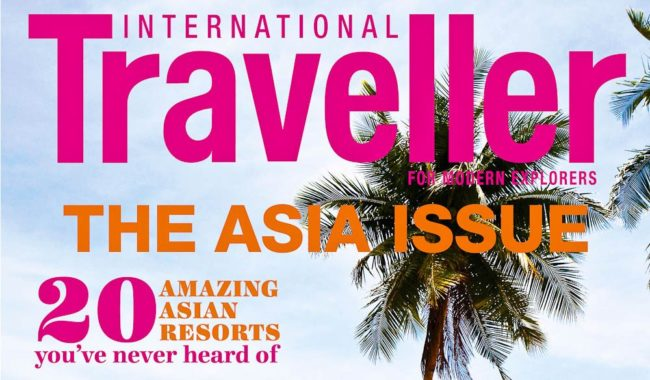 A year's subscription to International Traveller is up for grabs for a simple 'like'.