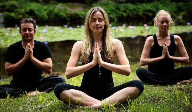 Billabong Retreat: Meditation is an art, according to Megan.
