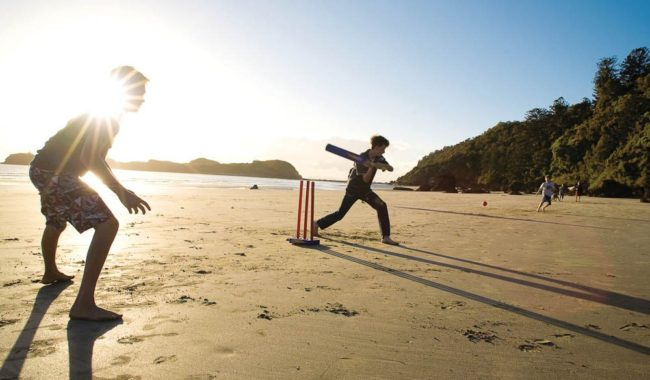 The best beach cricket games are the epics that begin mid-morning, break for lunch and continue through until dinner.