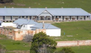 The Maria Island Penitentiary (Tas),basic digs but a history lesson in itself.  (Tas Parks & Wildlife service)