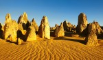 Western Australia's own moonscape: The Pinnacles.