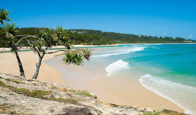 Perfect one day... One in seven AT readers prefers a Queensland beach holiday.