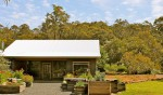 Bush garden surrounding Foragers' Field Kitchen, Pemberton WA
