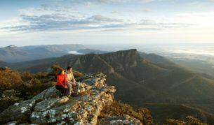 The Grampians: walkers' playground for three seasons of the year.