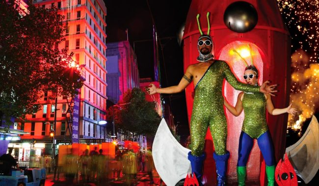 The Adelaide Fringe... a little different (Faanana & Nerida Waters)