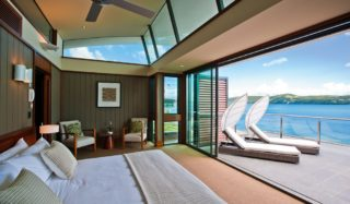 No need to get out of bed - Hamilton Island Yacht Club Villa.