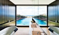 P.O.A elegant holiday house at Sydney's Gordon's Bay (photo: Robert Walsh).